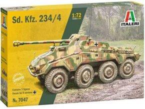 Italeri - Sd. Kfz. 234/4, Model Kit 7047, 1/72