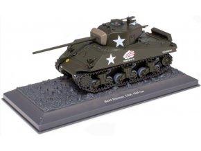 Atlas Models - M4A3 Sherman, Thunderbolt IV 37th Tank Battalion 4th Armored Division US Army, Bitva v Ardenách 1944, 1/43