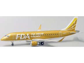 "JC Wings - Embraer ERJ-170-200STD (ERJ-170-200), společnost FDA Fuji Dream Airlines ""Gold Color"", Japonsko, 1/200"