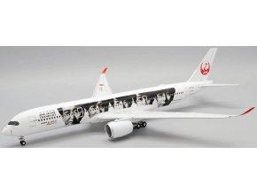 "JC Wings - Airbus A350-900, dopravce  JAL Japan Airlines ""Special Livery"" (klapky dolů), Japonsko, 1/200"
