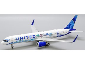 """JC Wings - Boeing B757-200, dopravce United Airlines """"Her Art Here - California Livery"""", USA, 1/200"""