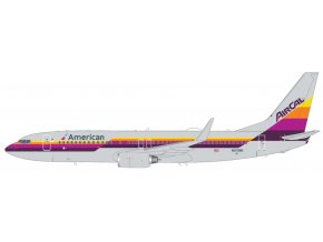 Gemini - Boeing B737-800, dopravce American Airlines, AirCal Heritage Livery, USA, 1/200