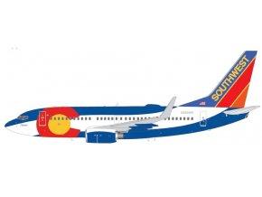 "Gemini - Boeing B737-700, dopravce Southwest Airlines ""Colorado One"" (klapky dolů), USA, 1/200"