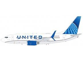 Gemini - Boeing B737-700, dopravce United Airlines, USA, 1/200