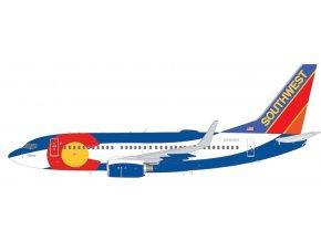 "Gemini - Boeing B737-700, dopravce Southwest Airlines ""Colorado One"", USA, 1/200"