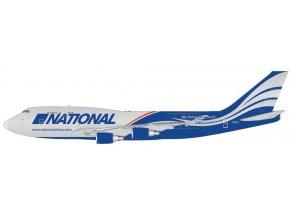 Gemini - Boeing B747-400BCF, dopravce National Airlines, USA, 1/400