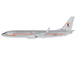 """Gemini - Boeing B737-800, dopravce American Airlines, polished """"Astrojet"""" livery, USA, 1/400"""