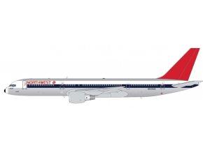Gemini - Boeing B757-200, dopravce Northwest Airlines, polished 1980s livery, USA, 1/400