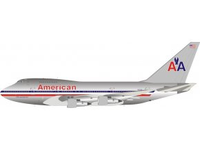 Inflight 200 - Boeing B747SP-31, dopravce American Airlines, Polished, USA, 1/200