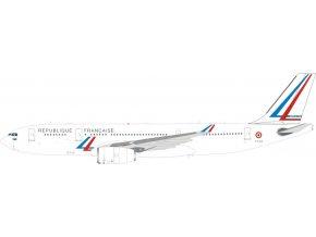 Inflight 200 - Airbus A330-243, dopravce French Air Force, Republique Francaise, Francie, 1/200