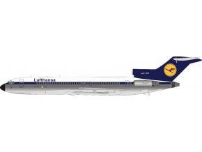 J Fox - Boeing B727-230, dopravce Lufthansa, Polished, Německo, 1/200