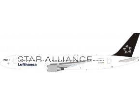 J Fox - Boeing B767-3Z9 (ER), dopravce Lufthansa, Star Alliance, Německo, 1/200