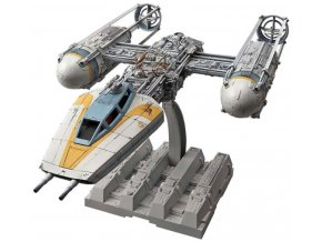 Revell - Y-wing Starfighter, Plastic ModelKit BANDAI SW 01209, 1/72