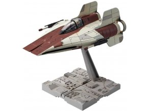 Revell - A-wing Starfighter, Plastic ModelKit BANDAI SW 01210, 1/72