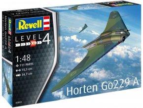 Revell - Horten Go229 A-1, Plastic ModelKit 03859, 1/48