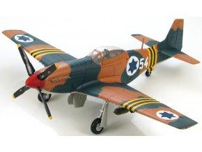 HobbyMaster - P-51D Mustang, izraelské letectvo, Suez 1956, 1/48