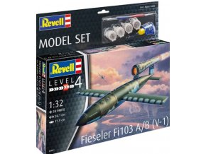 Revell  - Fieseler Fi103 V-1, ModelSet raketa 63861, 1/32