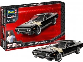 Revell - Fast & Furious - Dominics 1971 Plymouth GTX , ModelSet 67692, 1/24