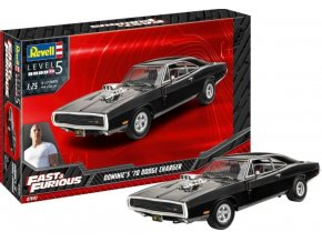 Revell - Fast & Furious - Dominics 1970 Dodge Charger, ModelSet 67693, 1/25