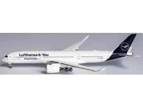 NG Model - Airbus A350-900, dopravce Lufthansa, Lufthansa & You, #TogetherAgain, Německo, 1/400