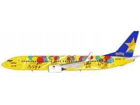 NG Model - Boeing B737-800, dopravce Skymark Airlines, new Pokemon cs, Japonsko, 1/400
