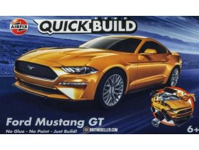 Airfix - Ford Mustang GT, Quick Build auto J6036