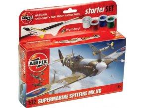 Airfix - Supermarine Spitfire MkVc, Starter Set letadlo A55001, 1/72