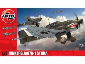Airfix - Junkers Ju-87 B-1 Stuka, Classic Kit A03087A, 1/72