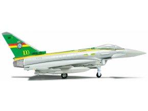 Herpa - Eurofighter Typhoon EF-2000, RAF, FGR. 4 No.3 (F) Squadron, 100th Anniversary, 1/200
