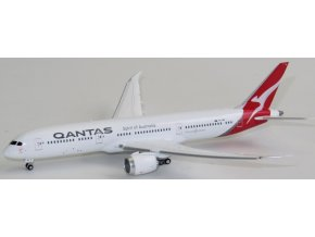 Gemini - Boeing B787-9 Dreamliner, dopravce Qantas, Austrálie, (klapky dolů), 1/400