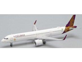 JC Wings - Airbus A321 neo, společnost Vistara, VT-TVB, Indie, 1/400