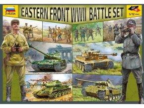 Zvezda - Eastern Front WWII, Battle Set 5203, 1/72