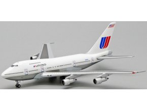 """JC Wings - Boeing B747SP, dopravce United Airlines, """"White Livery"""", USA, 1/400"""
