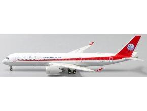 JC Wings - Airbus A350-900, dopravce Sichuan Airlines, Čína, (klapky dolů), 1/400