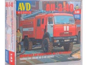 AVD Models - AC-3-40 (KAMAZ-43502) Hasičský vůz, Model kit 1268, 1/43