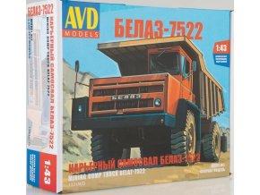AVD Models - Belaz-7522 sklápěčka, Model kit 1331, 1/43