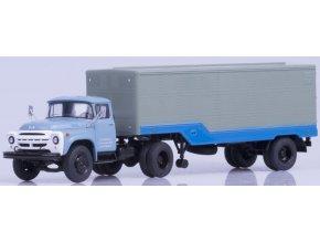 Start Scale Models - ZIL-130V1 s návěsem ODAZ-794, modro-šedá, 1/43