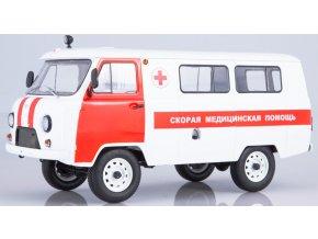 Start Scale Models - UAZ-3962 Buchanka, Ambulance, 1/18