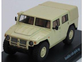 Start Scale Models - GAZ-233001, Ruský army jeep, Tiger pickup, 1/48