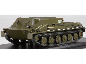 Start Scale Models - BTR-50, Sovětský obojživelný pásový obrněný transportér, 1/43