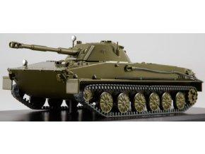 Start Scale Models -  PT-76, Obojživelný lehký tank, sovětská armáda, 1/43