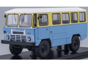 Start Scale Models -  APP-66, Autobus sovětské armády, žluto-modrý,  1/43