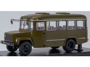 Start Scale Models -  KAVZ-3976, Autobus sovětské armády, khaki,  1/43