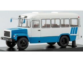 Start Scale Models -  KAVZ-3976, Příměstský autobus, bílo-modrý, 1/43