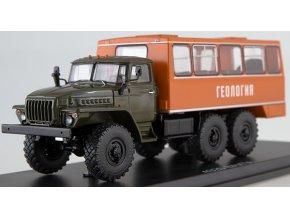 Start Scale Models -  NEFAZ-42112 Vahta, URAL-4320, Autobus, 1/43