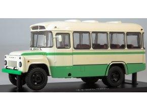 Start Scale Models -  KAVZ-658, autobus, bílo-zelený, 1/43