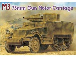 Dragon - M3 75mm GUN MOTOR CARRIAGE (SMART KIT, Model Kit 6467, 1/35