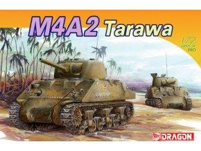 Dragon - M4A2 TARAWA, Model Kit 7305, 1/72