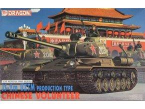 Dragon -  JS-2m UZTM PRODUCTION TYPE, CHINESE VOLUNTEER, Model Kit 6804, 1/35