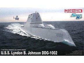 Dragon - U.S.S. Lyndon B. Johnson (DDG-1002), Model Kit 7148, 1/700